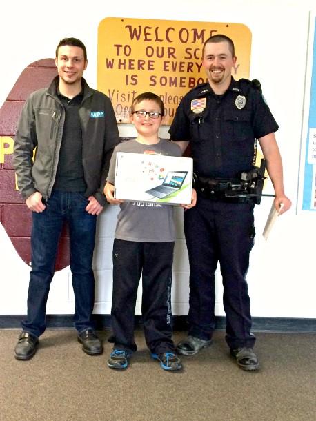Luke Miller - Safety Net essay winner 2015