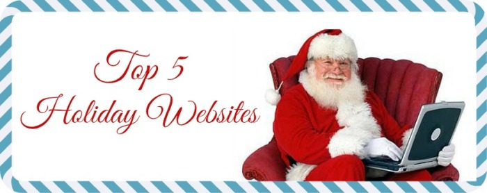 Top 5 Holiday Websites banner graphic
